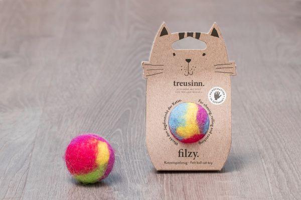 Katzenspielzeug FILZY