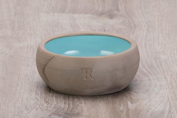 Treusinn Katzennapf Keramik Aqua