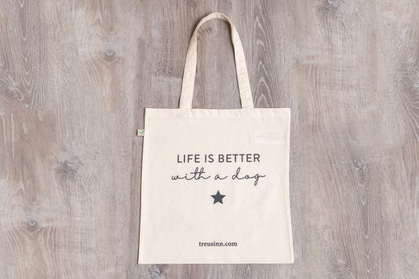 "TREUSINN Shopper ""Life is better"""