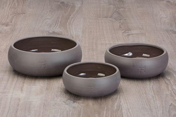 Treusinn Hundenapf Keramik Pur Schiefer
