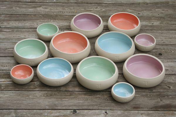 Keramiknapf PUR Pastell, B-Ware
