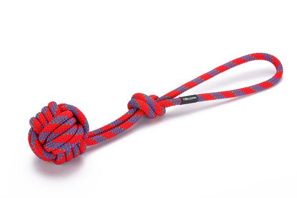Treusinn Tau-Spielzeug Bolly Rot L